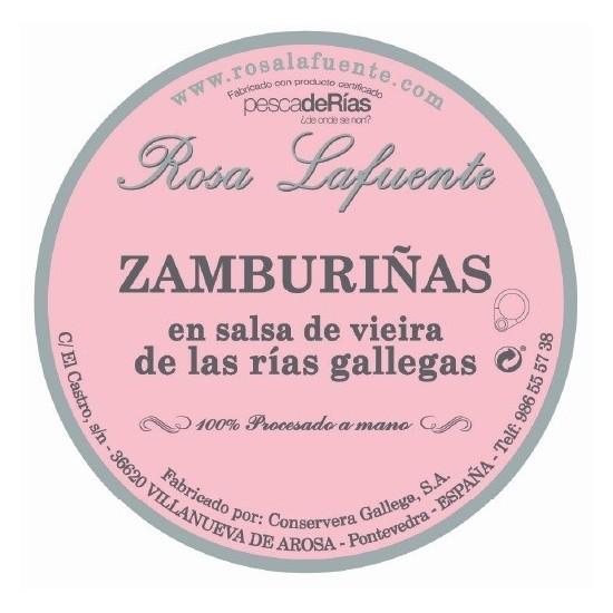 Zamburiñas Rosa Lafuente